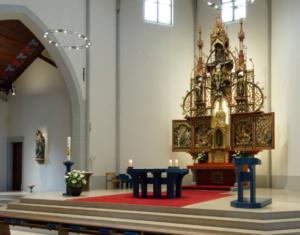 Gottesdienste ab 28. Mai in unserer Kirche