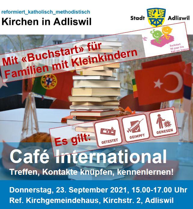 """Café International mit """"Buchstart"""""""